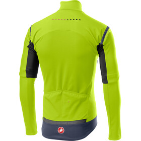 Castelli Perfetto RoS Veste convertible Homme, yellow fluo